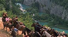 Бандиты прибывают на Серебряное озеро
